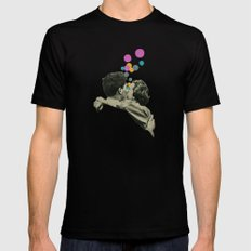 First Kiss Mens Fitted Tee Black SMALL
