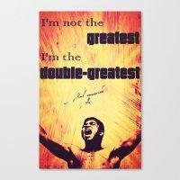 Muhammad Ali #1 Canvas Print