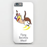 Flying Barcelona Attack iPhone 6 Slim Case