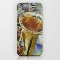 Saxophone iPhone 6 Slim Case