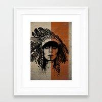 Look Inside -Alt Framed Art Print