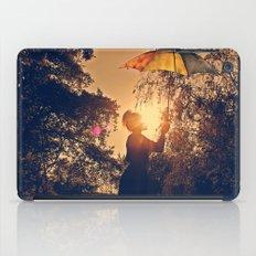 sunshine umbrella iPad Case