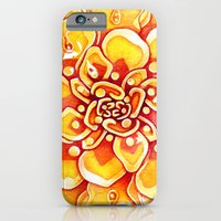 Marigold Mandala iPhone 6 Slim Case