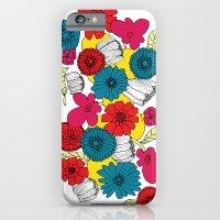 Scandinavian Flowers iPhone 6 Slim Case