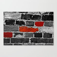 OTHER BRICKS IN THE WALL Canvas Print
