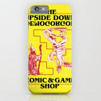 The Upside Down Demogorgon - Stranger Things Have Happened iPhone 6 Slim Case
