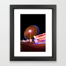 Circuitous & Looming Large Framed Art Print