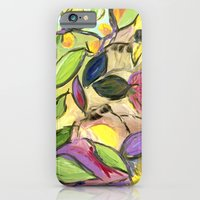 Flower Swirls iPhone 6 Slim Case