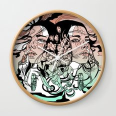 Warm of the Cool Wall Clock