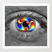 Window to the Multiverse Art Print