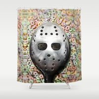 Cereal Killer Shower Curtain