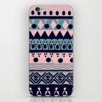 PASTEL NORDIC TRIBAL II iPhone & iPod Skin