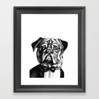 Puglass Framed Art Print