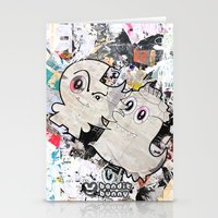 Two Sugar Monsters Stationery Cards