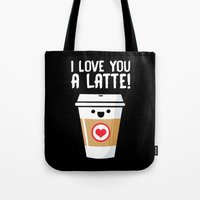 Latte Love Tote Bag