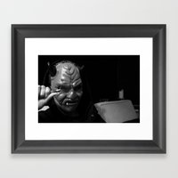 Inspector Devil  Framed Art Print