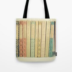 Old Books Tote Bag
