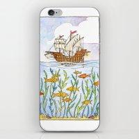 Ship and Sea iPhone & iPod Skin