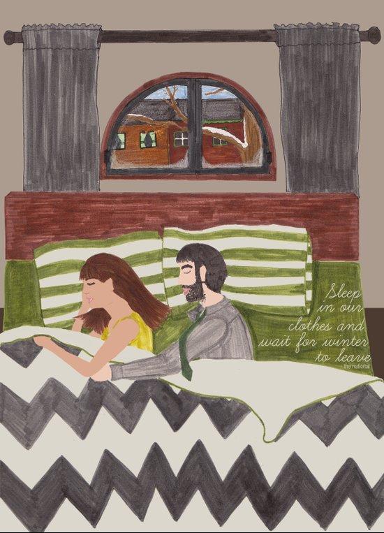 apartment story Art Print