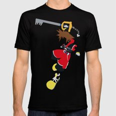 Sora Mens Fitted Tee Black SMALL