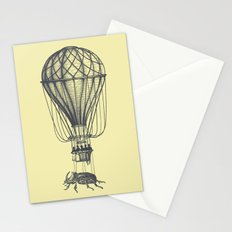 Discovery (grey on yellow) Stationery Cards