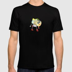 Piggy`s Wife ;) Black SMALL Mens Fitted Tee