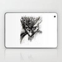 Owl Girl Eyes Laptop & iPad Skin