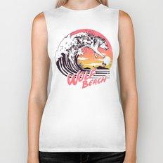 Wolf Beach Biker Tank