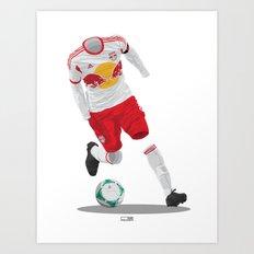 New York Red Bulls 2013 Art Print