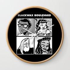 Blackwax Boulevard Album Cover  Wall Clock