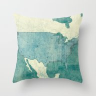 United States Of America… Throw Pillow