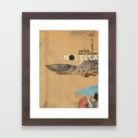 Novella- Love And Lost Framed Art Print