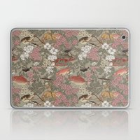 Fishes & Flowers - Seaml… Laptop & iPad Skin
