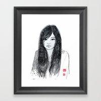 DanDan Framed Art Print