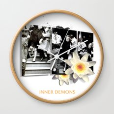 Inner Demons Wall Clock