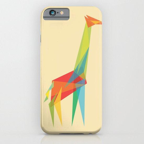 Fractal Geometric Giraffe iPhone & iPod Case