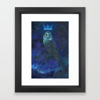 Owl Spirit Framed Art Print