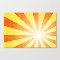 Retro Art Canvas Print