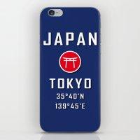Tokyo Japan iPhone & iPod Skin