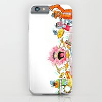 iPhone & iPod Case featuring PARTY! by Jesse Robinson Williams