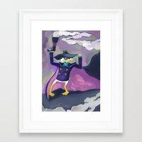 Darkwing Duck Framed Art Print
