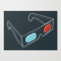 INSIDE 3D Canvas Print