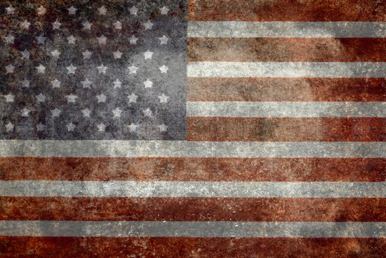 """Old Glory"", The Star-Spangled Banner Art Print"