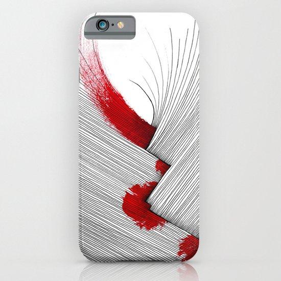 Impact (white version) iPhone & iPod Case