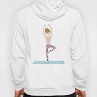 Yoga Girl In Tree Pose I… Hoody