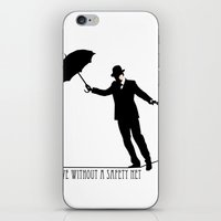 no safety net iPhone & iPod Skin