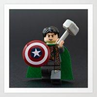Loki, God of Mischief Art Print