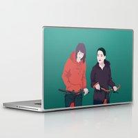 bike Laptop & iPad Skins featuring BIKE by ketizoloto