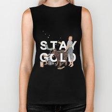 Stay Gold Biker Tank