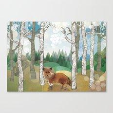 Woodland Canvas Print